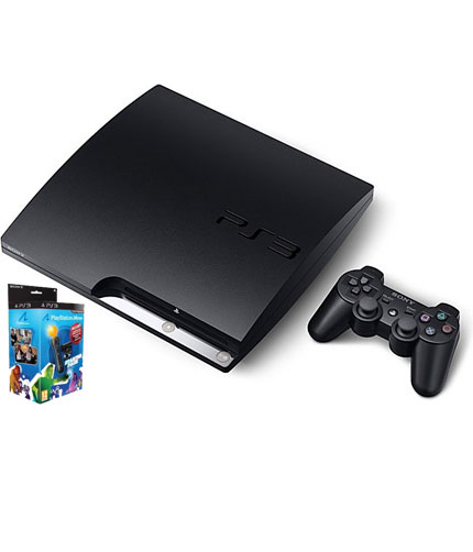 ps3 slim 320gb. PS3 Slim 320GB Move